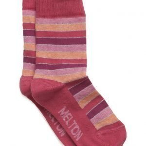 Melton Sock Stripes With Lurex