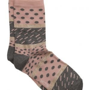 Melton Sock Super Graphic W/Lurex