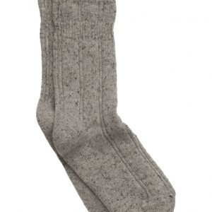 Melton Wool Cozy Bed Sock W/Silk