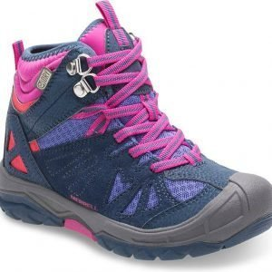 Merrell Capra Waterproof Kid Kengät Navy / Pink