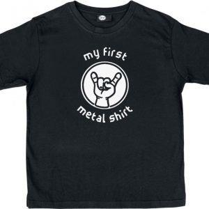 Metal-Kids My First Metal Shirt Lasten Paita