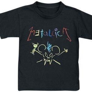 Metallica Crayon T-paita