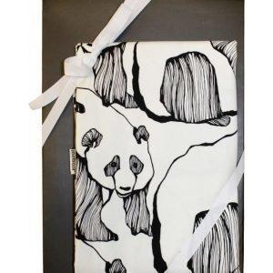 Metsola Panda Art Pussilakanasetti 150 x 210 + 50 x 60 cm