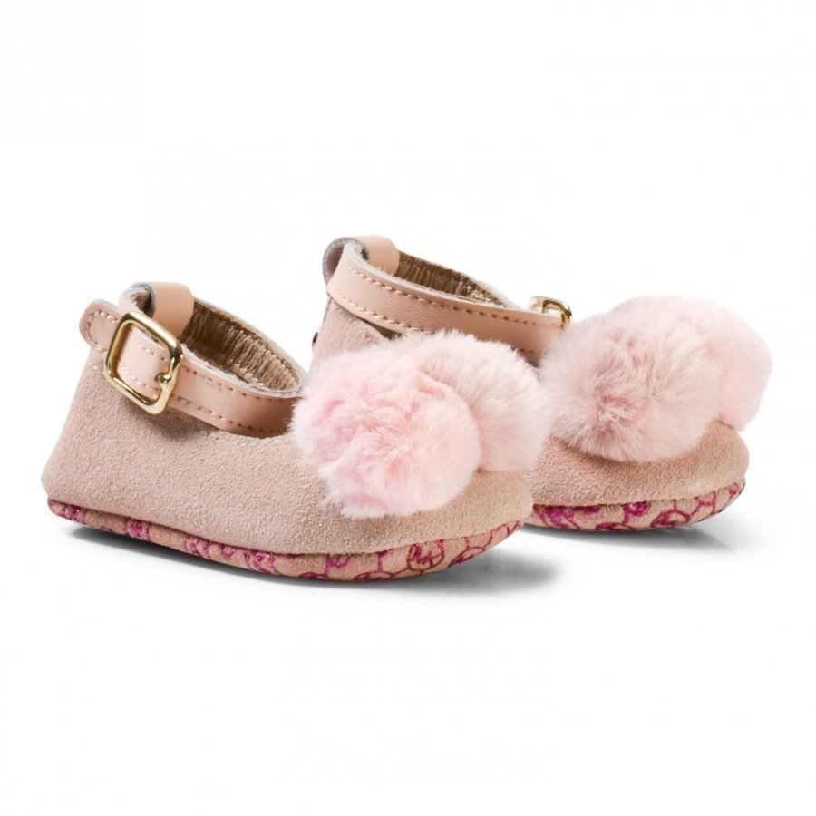Michael Kors Rose Gold Zia Baby Day Crib Shoes Vauvan Kengät