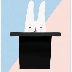 Michelle Carlslund Juliste Bunny Hat Trick 50 x 70 cm