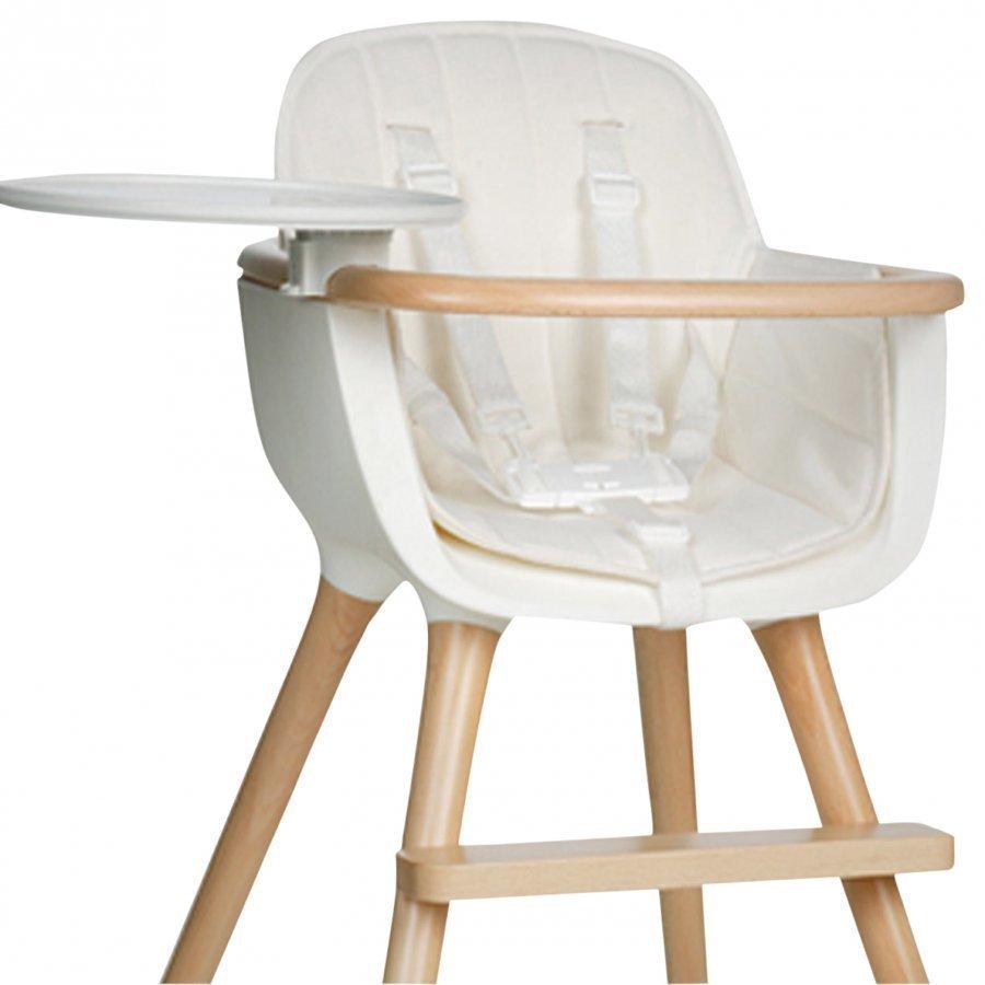 Micuna Ovo Highchair Textile White Syöttötuolin Istuintyyny