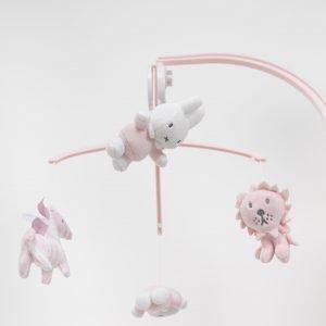 Miffy Musiikkimobile Pinkki