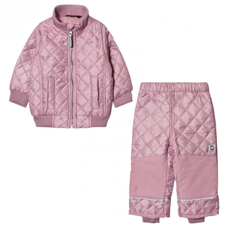 Mikk-Line Fleece Thermo Set Lavender Asusetti