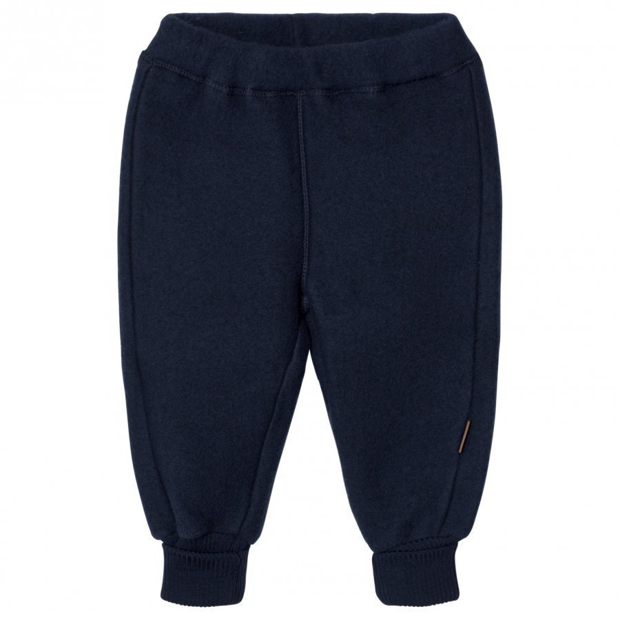 Mikk-Line Merino Wool Pants Blue Nights Verryttelyhousut