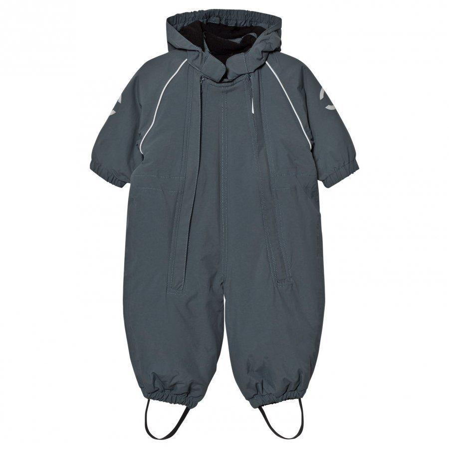 Mikk-Line Nylon Baby Suit Solid Dark Slate Puku