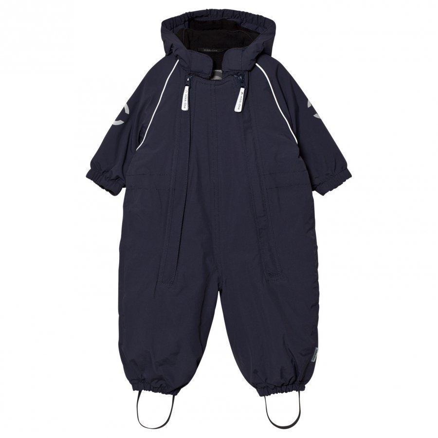Mikk-Line Nylon Baby Suit Solid Marine Puku