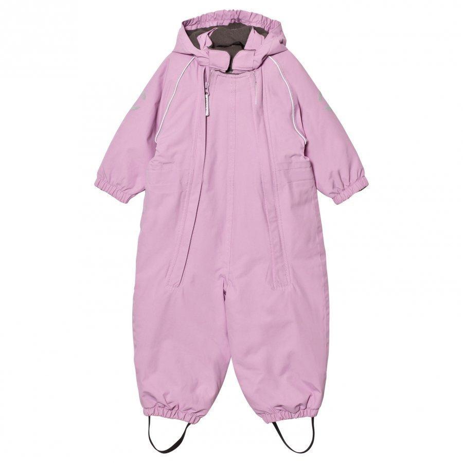 Mikk-Line Nylon Baby Suit Solid Violet Puku
