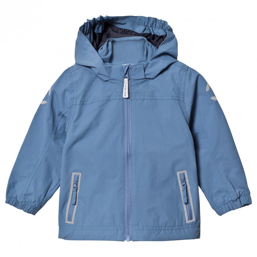 Mikk-Line Nylon Solid Jacket Dark Blue Kuoritakki