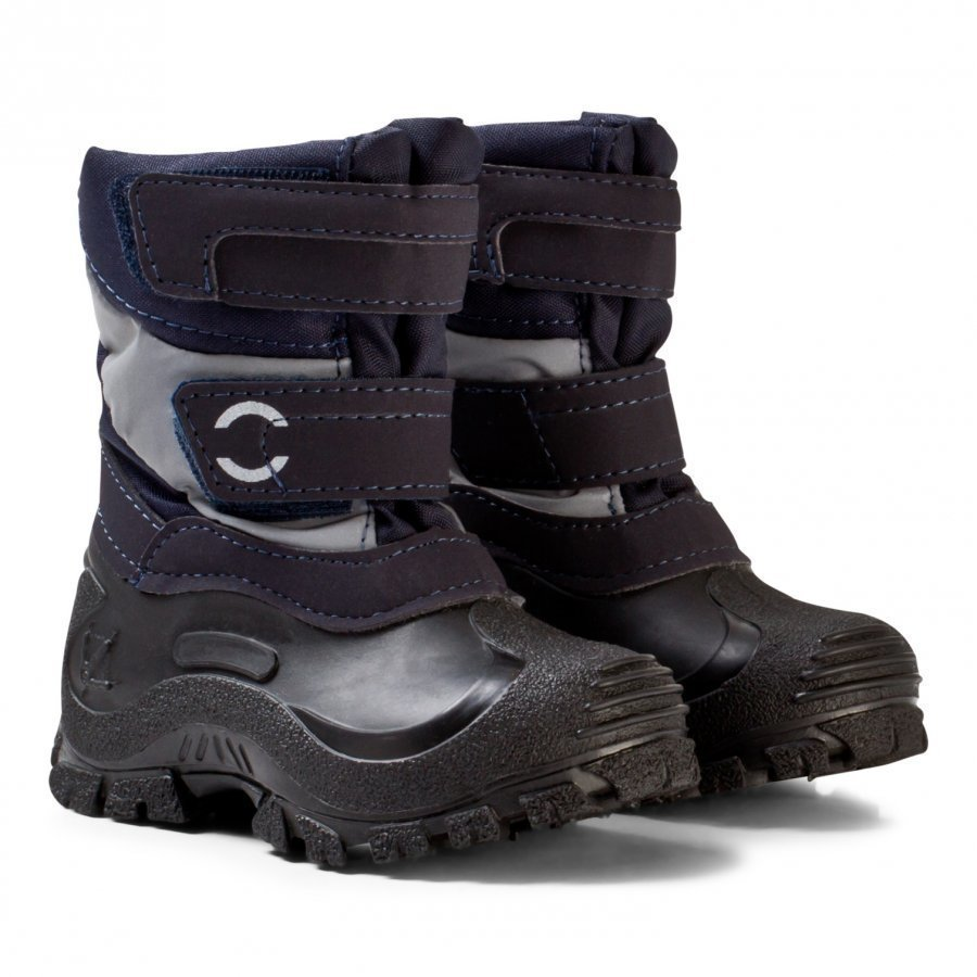Mikk-Line Winter Boots Dark Marine Kumisaappaat