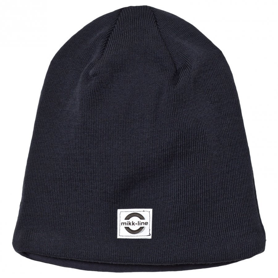 Mikk-Line Wool Hat Solid 9105 Blue Nights Pipo