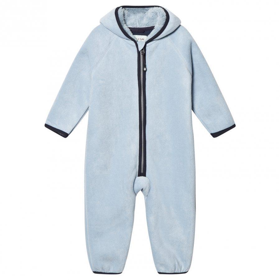 Mini A Ture Adel Fleece Onesie Blue Fog Fleece Haalarit