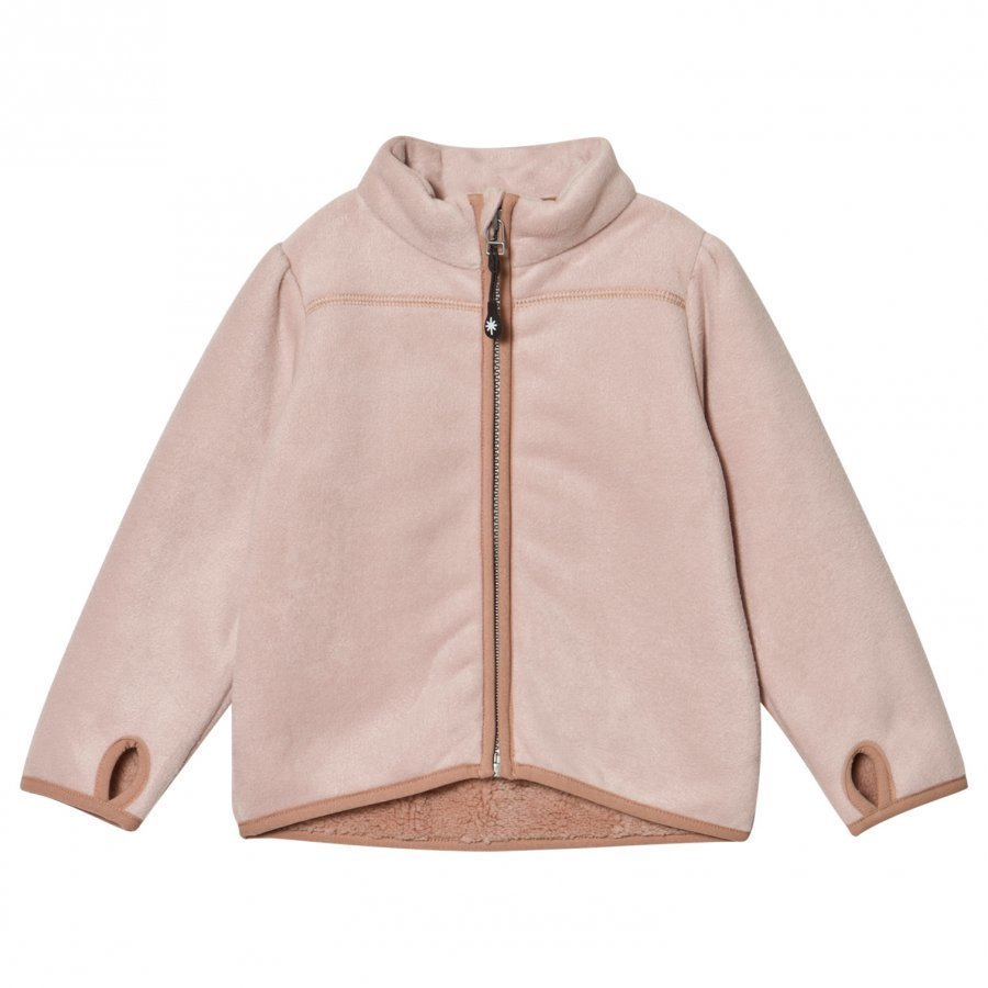 Mini A Ture Aliya Fleece Jacket Rose Smoke Fleece Takki