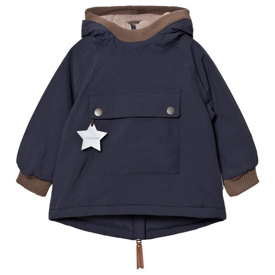 Mini A Ture Baby Wen B Jacket Blue Nights Toppatakki