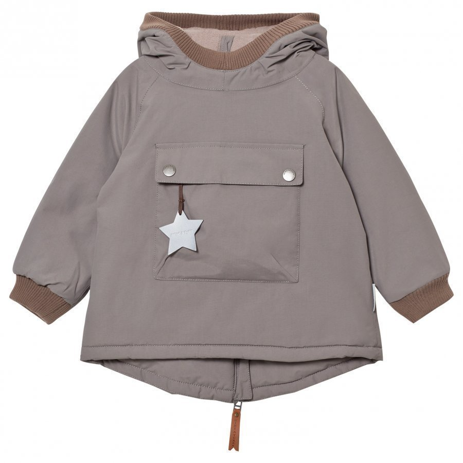 Mini A Ture Baby Wen B Jacket Steel Grey Toppatakki