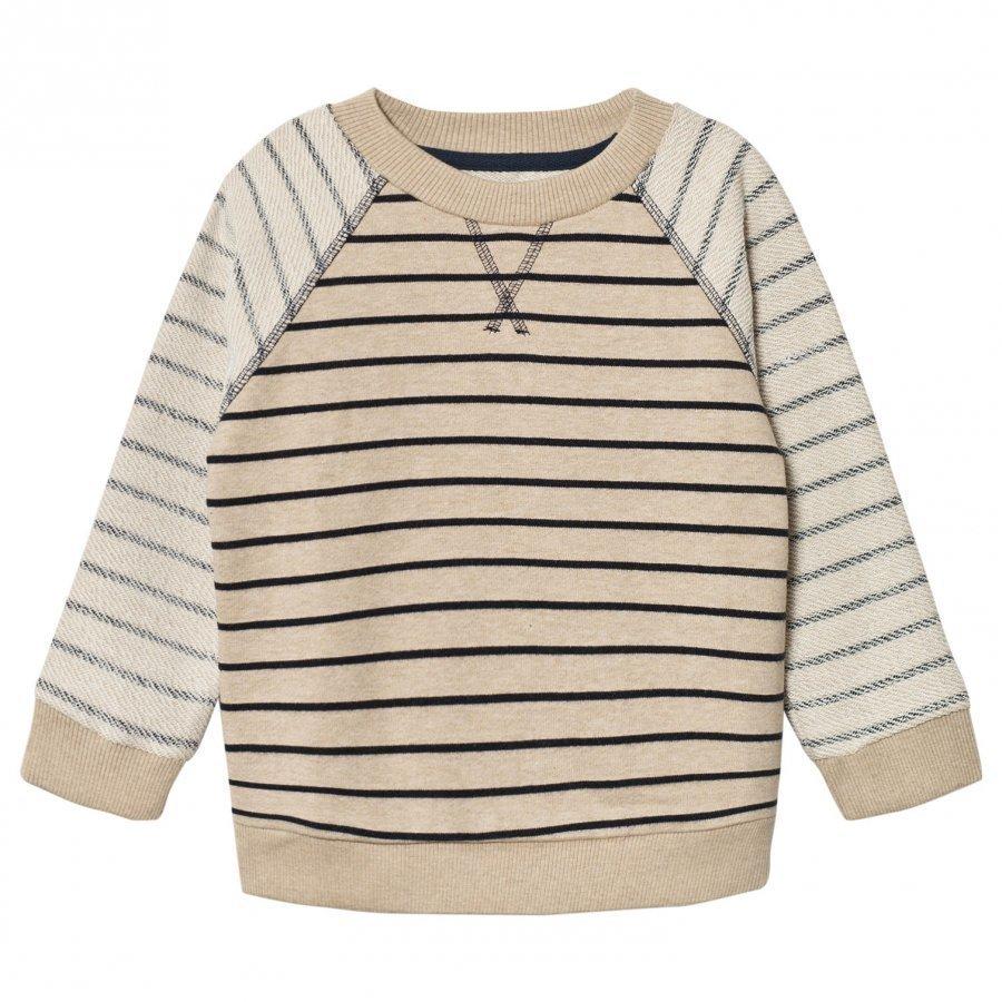 Mini A Ture Berno Sweater Sandshell Pitkähihainen T-Paita