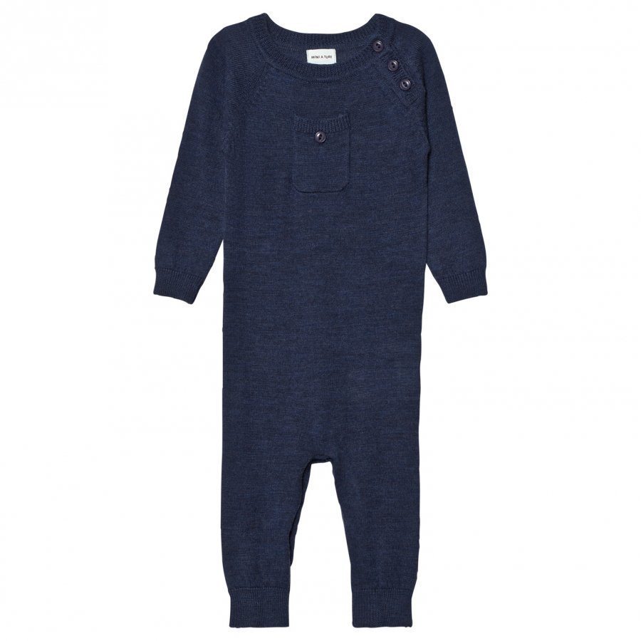 Mini A Ture Bigge One-Piece Mood Indigo Romper Puku