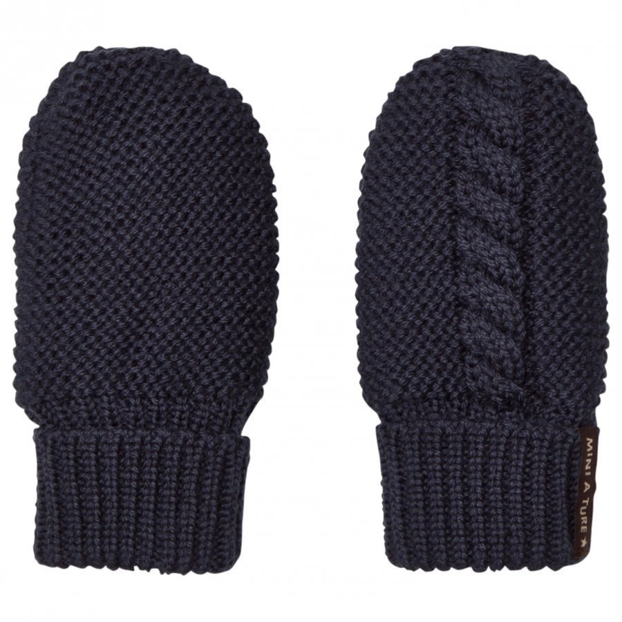 Mini A Ture Celin Mittens Blue Nights Villalapaset