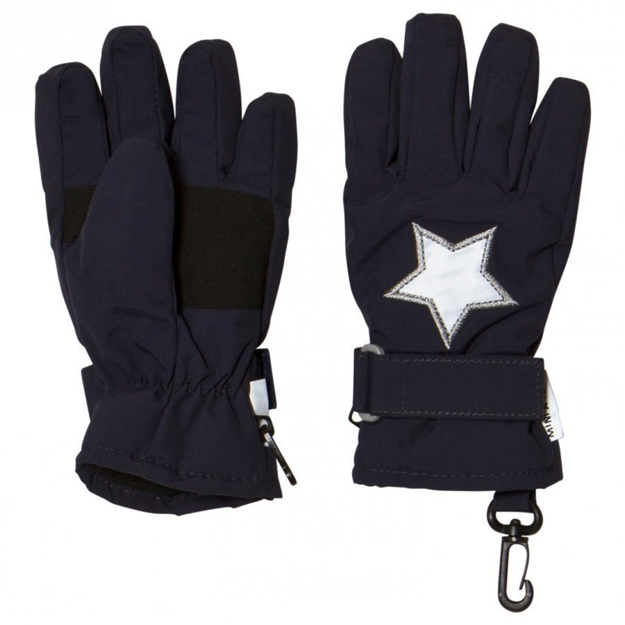 Mini A Ture Celio K Gloves Blue Nights Hanskat