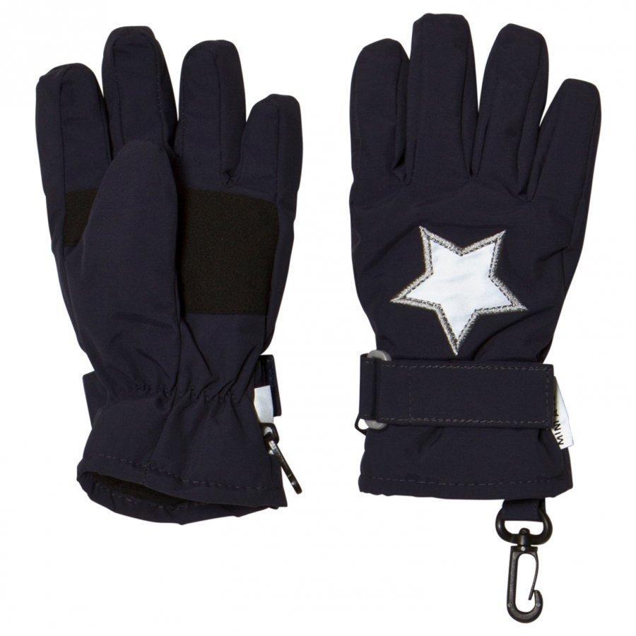 Mini A Ture Celio K Gloves Blue Nights Hanskat