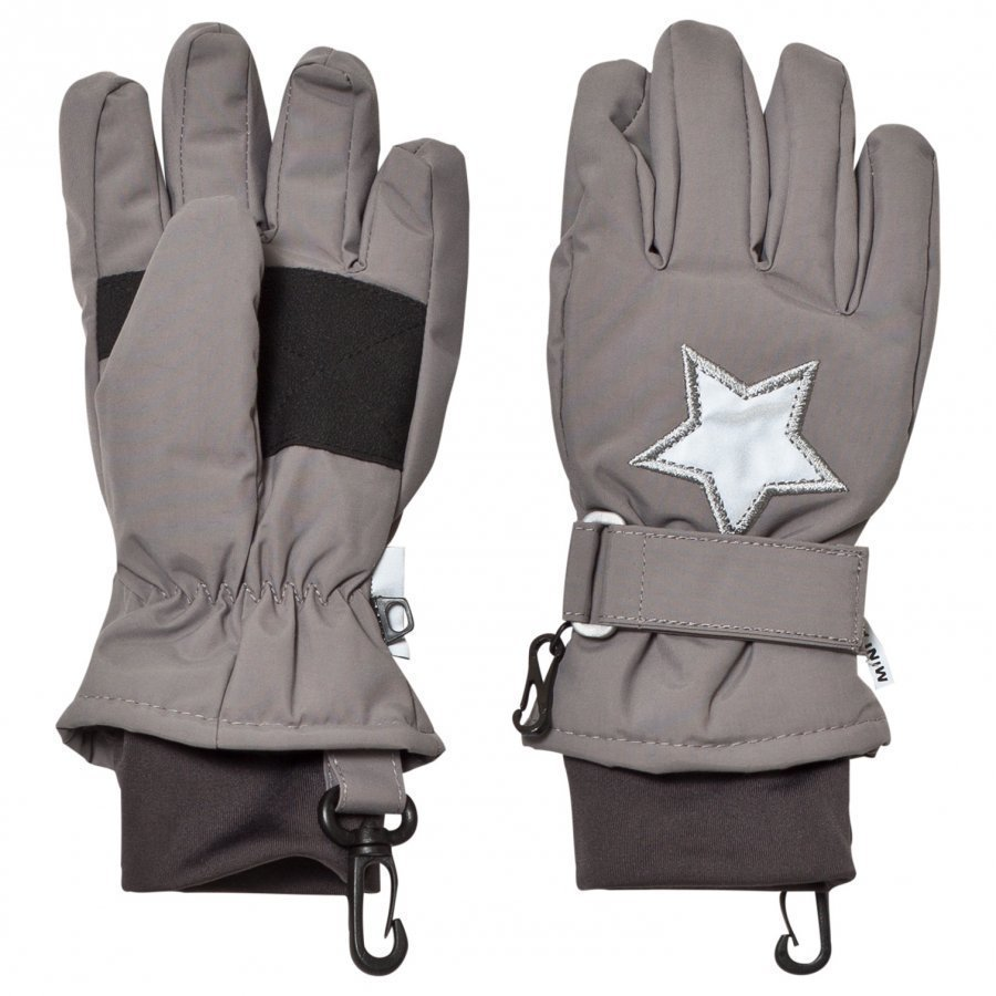 Mini A Ture Celio K Gloves Steel Grey Hanskat
