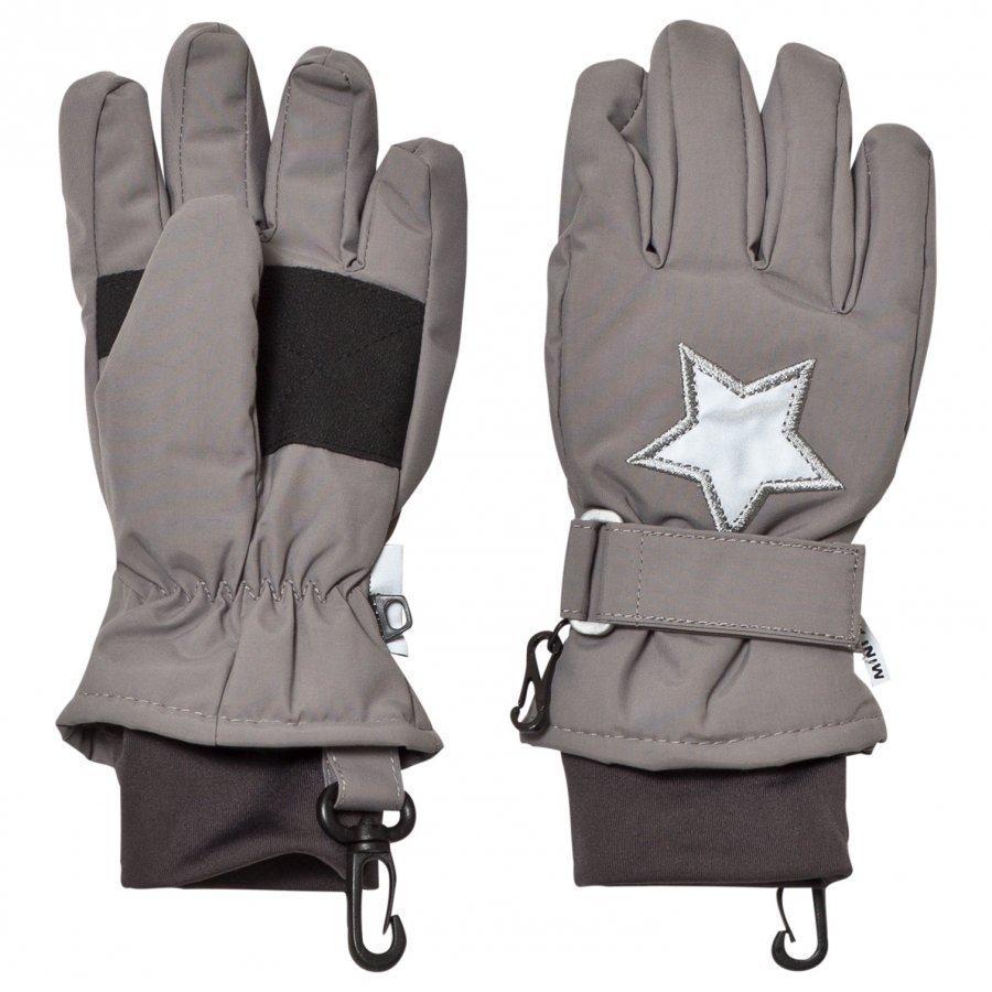 Mini A Ture Celio K Gloves Steel Grey Hanskat