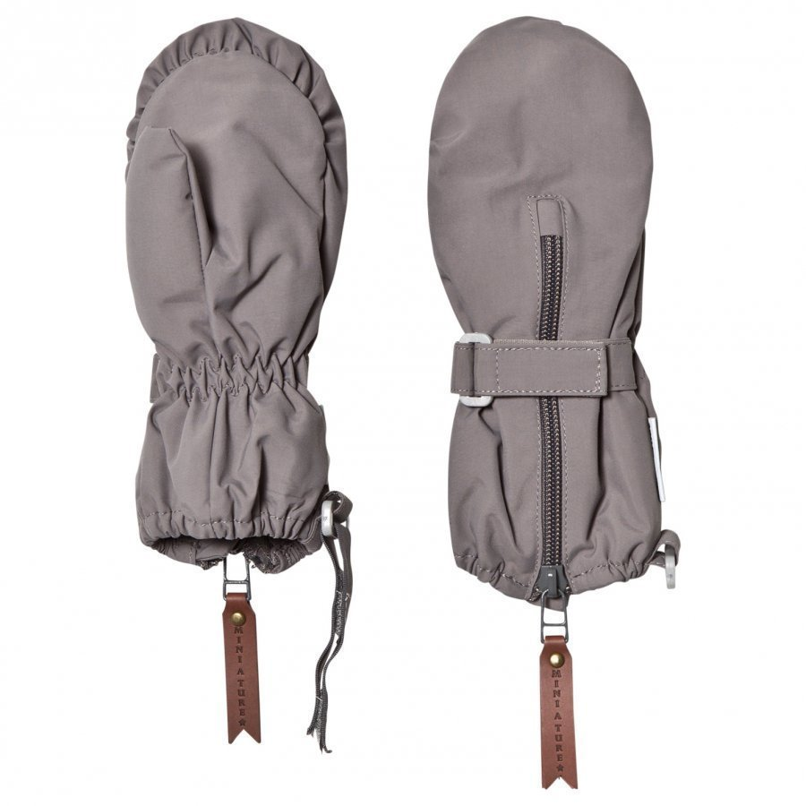 Mini A Ture Cesar M Gloves Steel Grey Hanskat