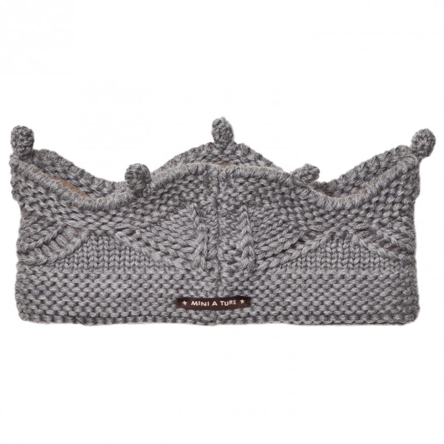 Mini A Ture Cinni Headband Grey Hiuspanta