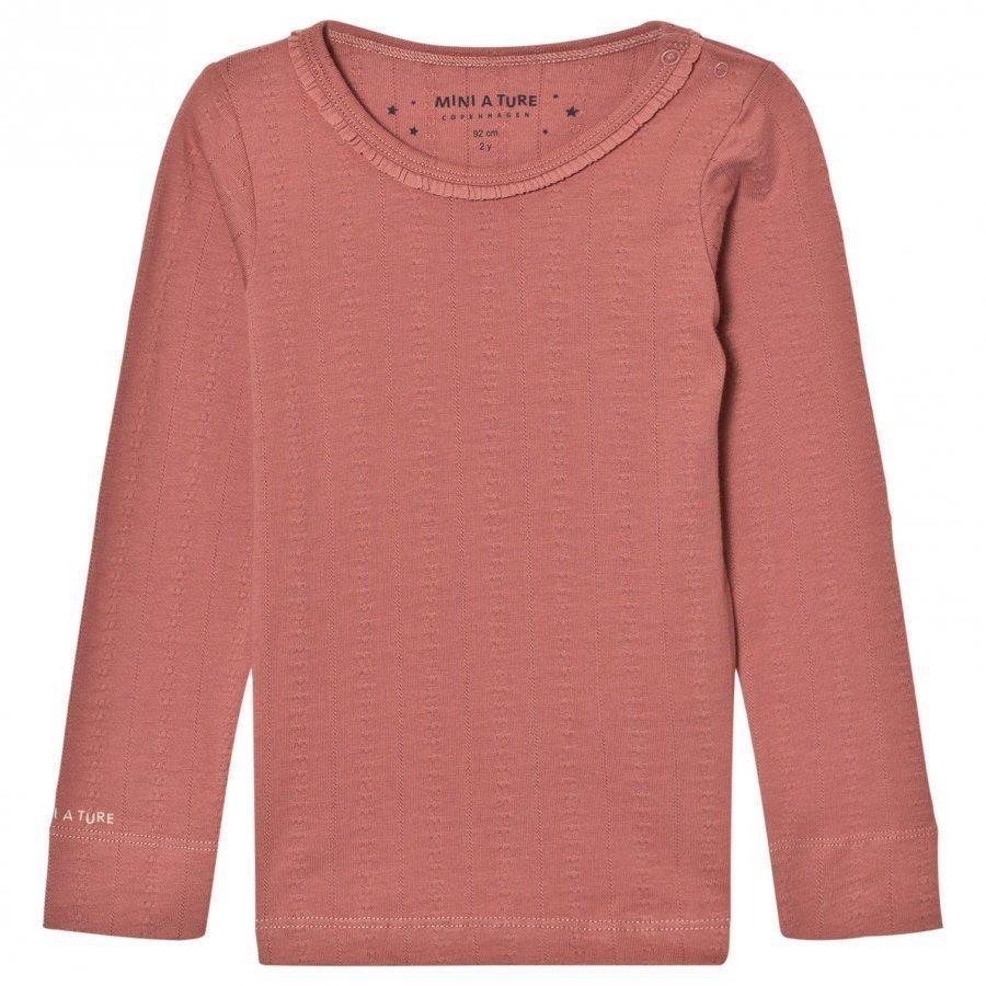 Mini A Ture Elga T-Shirt Withered Rose T-Paita