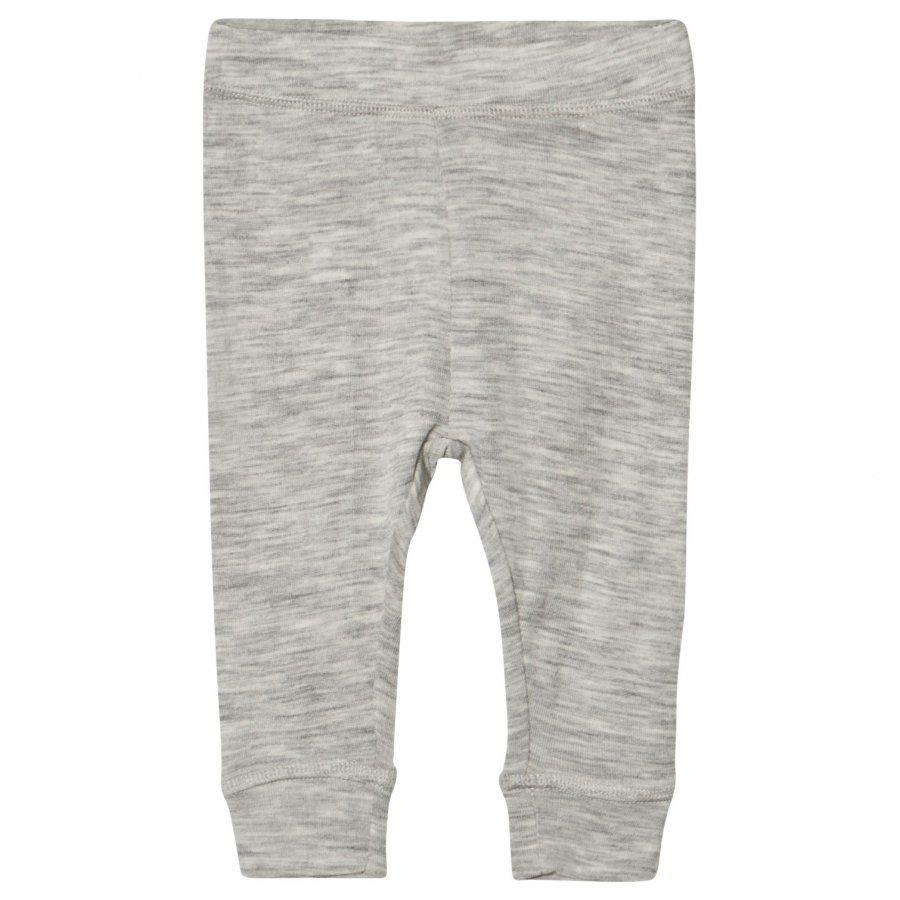 Mini A Ture Ero Pants Light Grey Melange Housut