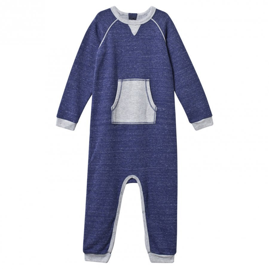 Mini A Ture Joseph B Onesie Blue Wing Teal Body