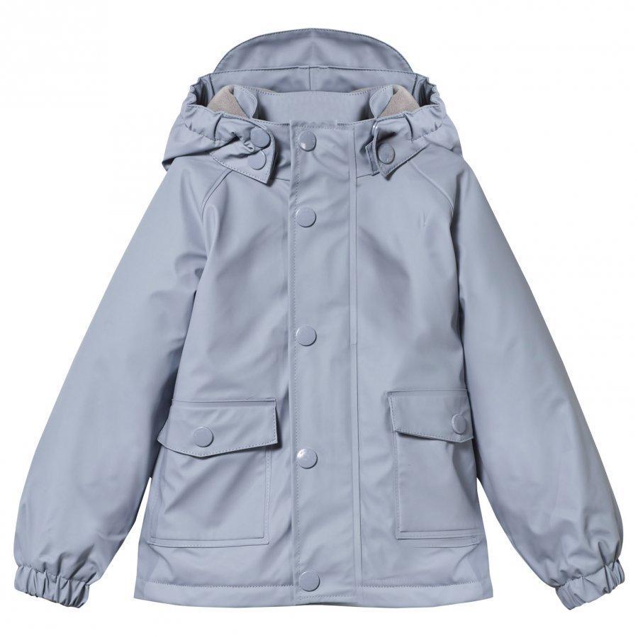 Mini A Ture Julien Lined Rain Jacket Cameo Blue Sadetakki