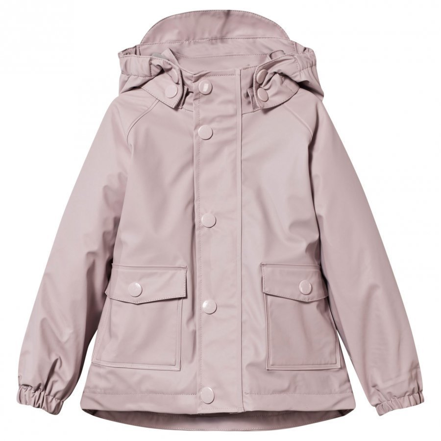 Mini A Ture Julien Lined Rain Jacket Violet Ice Sadetakki