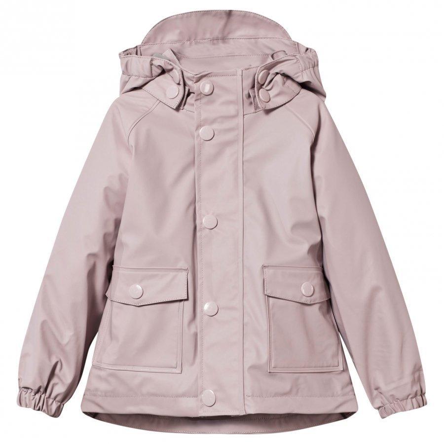Mini A Ture Julien Lined Rain Jacket Violet Ice Sadetakki