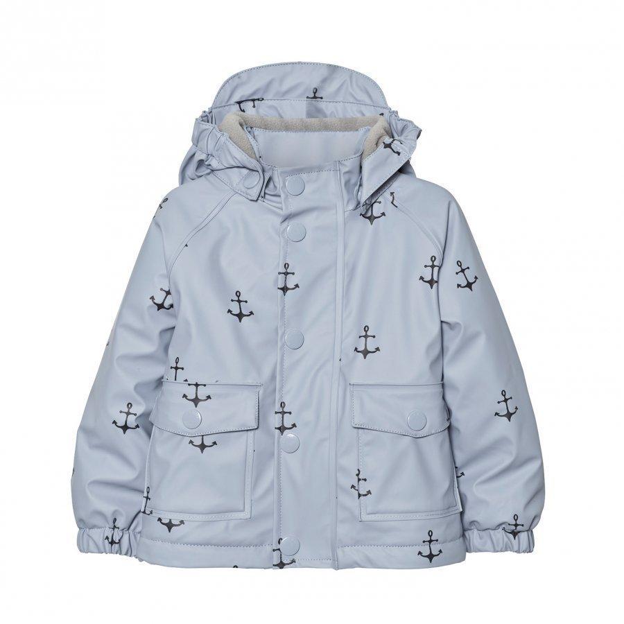 Mini A Ture Julien Print Raincoat Ashley Blue Sadetakki