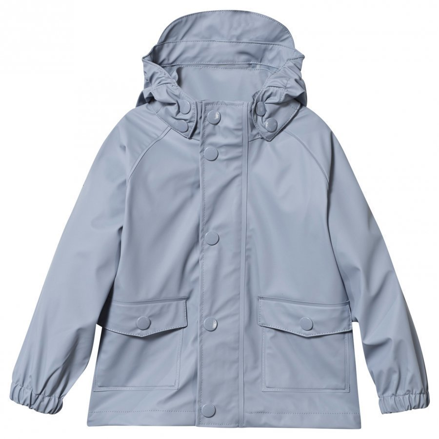 Mini A Ture Julien Rain Jacket Ashley Blue Sadetakki