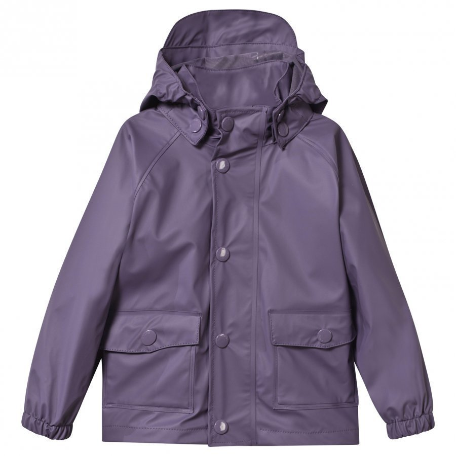 Mini A Ture Julien Rain Jacket Purple Heart Sadetakki