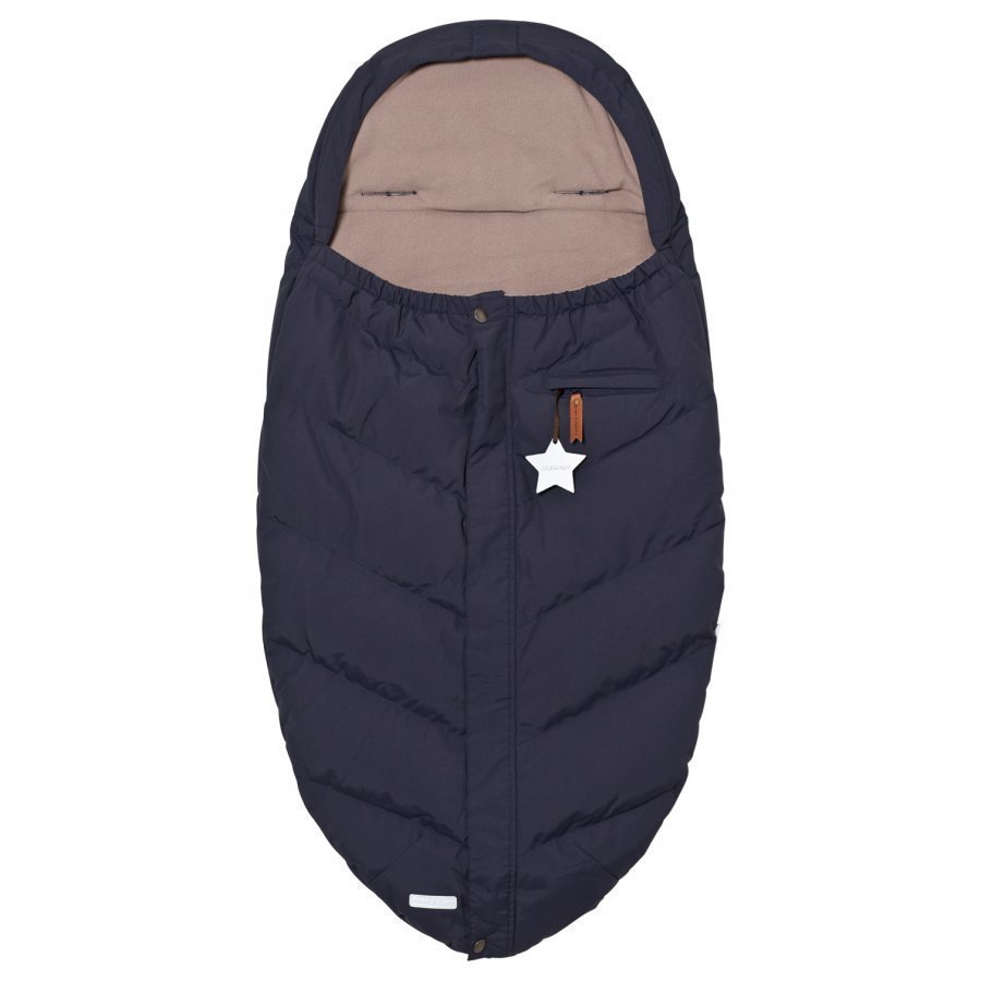 Mini A Ture Knirke B Footmuff Blue Nights Lämpöpussi