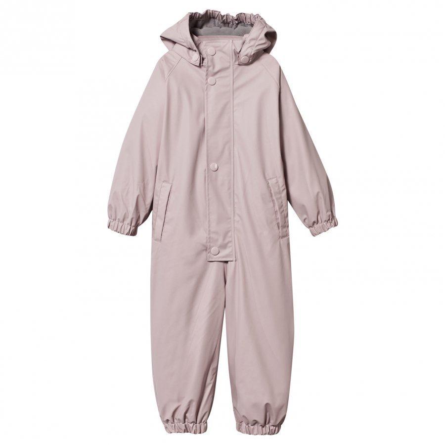 Mini A Ture Lined Rain Suit Violet Ice Sadesetti