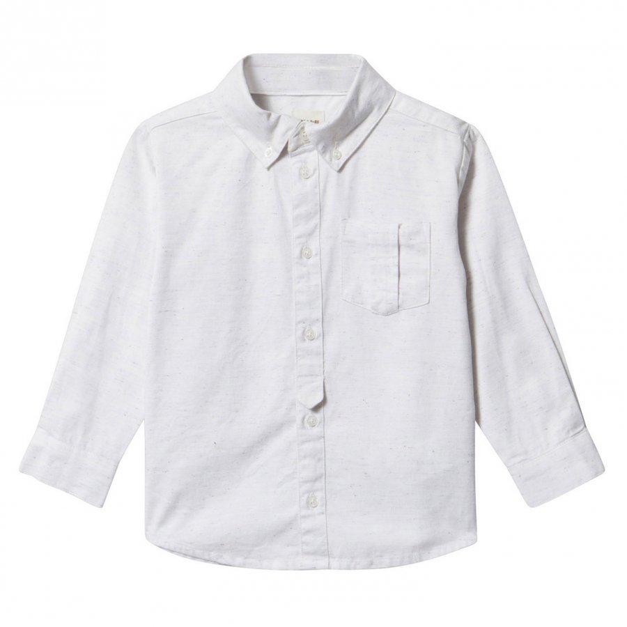 Mini A Ture Lucas Shirt White Kauluspaita