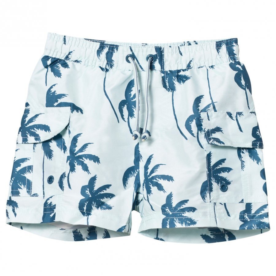 Mini A Ture Mateo K Surf Shorts Blue Ashes Uimahousut