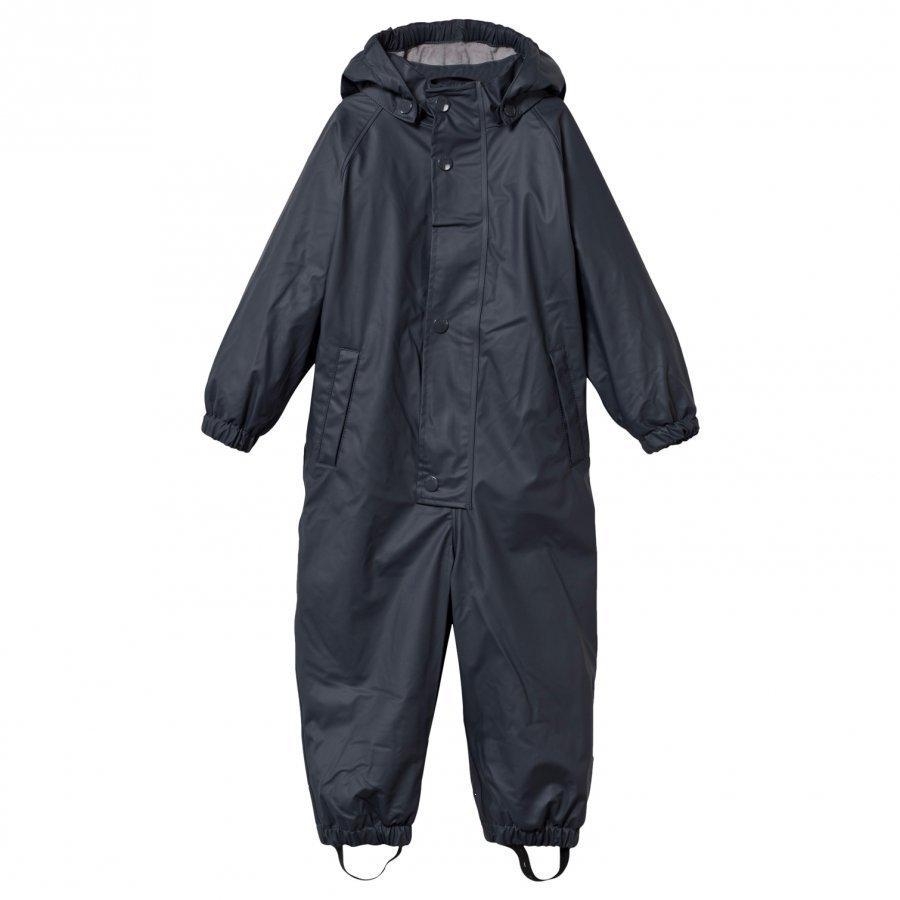 Mini A Ture Reinis Lined Rain Suit Ombre Blue Sadehaalari