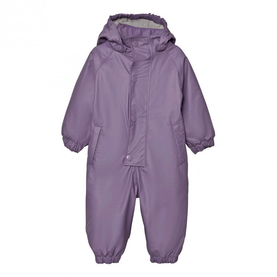 Mini A Ture Reinis Rainsuit Purple Heart Sadehaalari