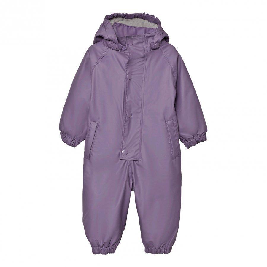 Mini A Ture Reinis Rainsuit Purple Heart Sadehaalari