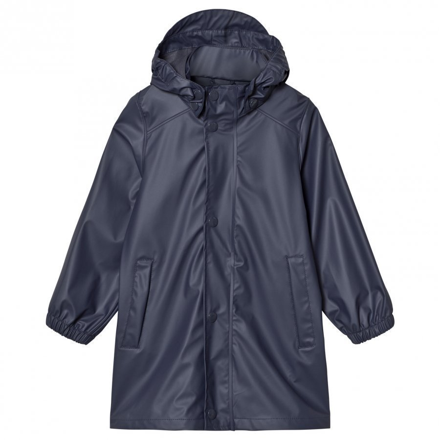 Mini A Ture Riley Rain Coat Ombre Blue Sadetakki