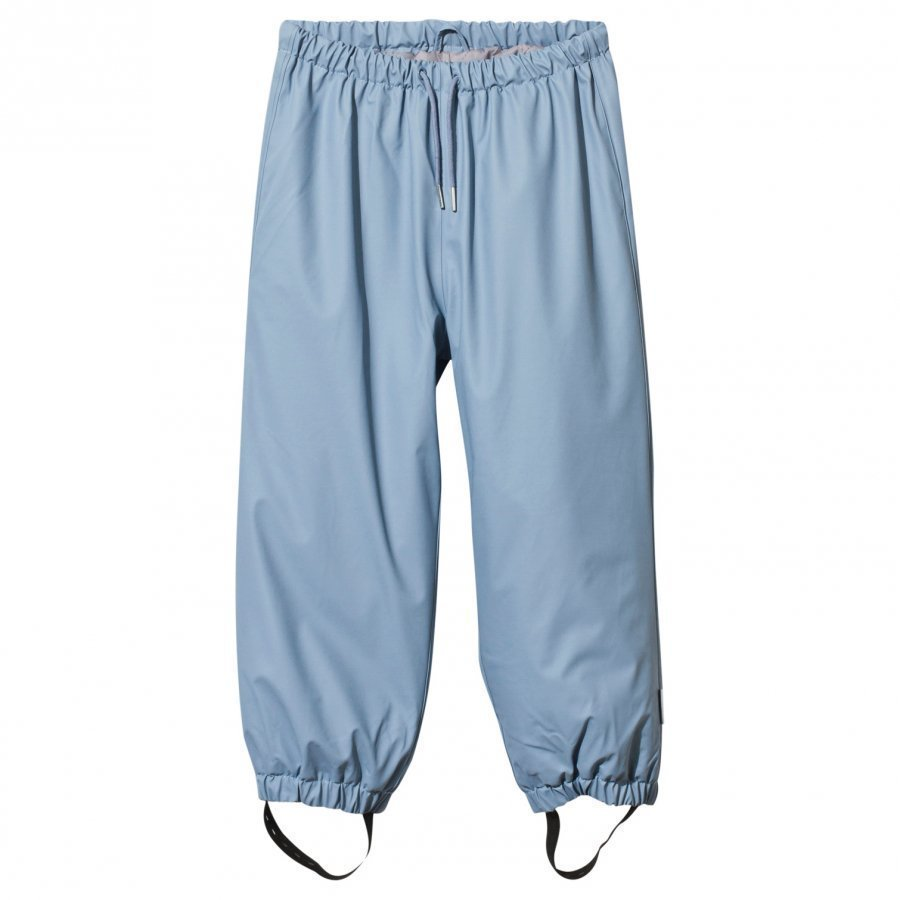 Mini A Ture Robin Lined Rain Pants Cameo Blue Sadehousut